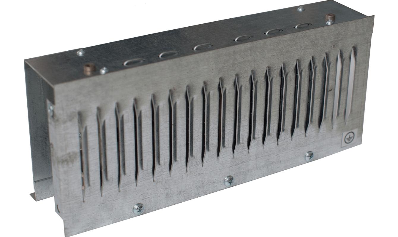 Підігрівач повітря в системах вентиляції КЕП2-03-4-220/380