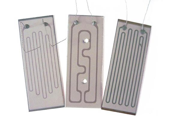 Плоскі електричні нагрівні елементи